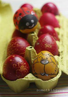 Adorable Easter egg decoration