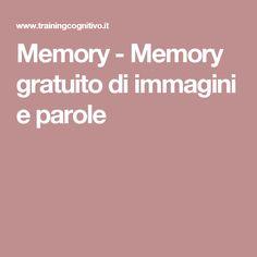 Memory - Memory gratuito di immagini e parole