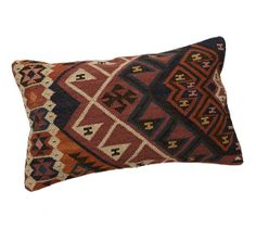 Norton Kilim Lumbar Pillow Cover | Pottery Barn