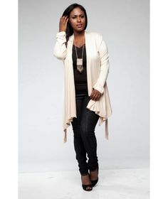 Wrap Me Up Cardigan in cream and burgundy
