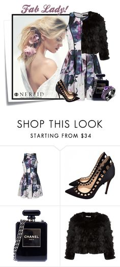 """""""Nereid 6"""" by elenb ❤ liked on Polyvore featuring moda, Post-It, Ally Fashion, Gianvito Rossi, Chanel y Alice + Olivia"""