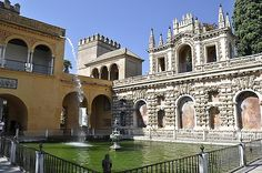 The Alcazar in Seville. Aaron and I went in 2004 and it is breath taking.