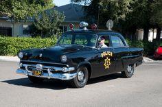 ford model a police car | Sacramento 1954 Ford Police Car