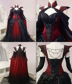 Exhilarating Jewelry And The Darkside Fashionable Gothic Jewelry Ideas. Astonishing Jewelry And The Darkside Fashionable Gothic Jewelry Ideas. Pretty Dresses, Beautiful Dresses, Moda Lolita, Fantasy Gowns, Goth Dress, Medieval Dress, Gothic Outfits, Gothic Fashion, Style Fashion