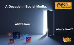 Webinar Recap: A Decade in Social Media. Whats Now. Whats Next?