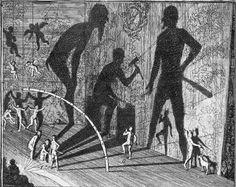 Samuel van Hoogstraten, The shadow dance, 1675