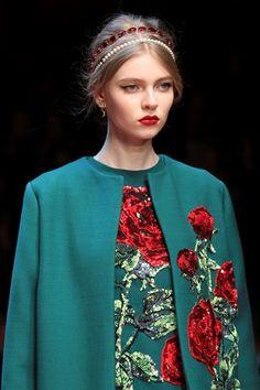 Il cerchietto doppio di Dolce & Gabbana