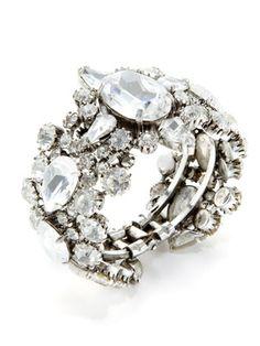 Rodrigo Otazu Clear Crystal Bracelet