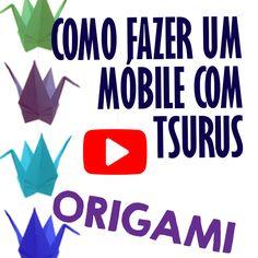 Neste vídeo mostro o passo a passo de como fiz um móbile de Tsurus (Origami). Fiz muitos Tsurus e depois não sabia o que fazer com tantas dobraduras. Então, fiz um móbile bem bonitinho! Ah, esse vídeo conta com a participação de um grande astro de Hollywood!