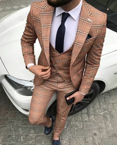 Vintage designer suits for men for the modern man. mens suit designer, mens designer suits on sale, Click VISIT link above for more info Men's Suits, Cool Suits, Designer Suits For Men, Plaid Suit, Suits For Sale, Herren Outfit, Mens Fashion Suits, Suit And Tie, Gentleman Style