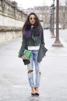 Street Style: Paris Fashion Week Fall 2014 Part 3