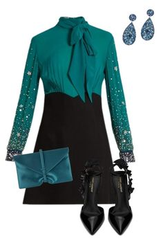 """""""Untitled #265"""" by angelbear38 on Polyvore featuring Miu Miu, Yves Saint Laurent and VBH"""