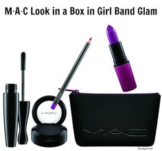 MAC Look In A Box -Girl Band Glam set (Nordstrom Anniversary Sale Beauty Exclusive) Best Mac Makeup, Latest Makeup, Mac Nordstrom, Makeup Outlet, Mac Looks, Makeup Tutorial Mac, Mac Brushes, Michael Kors Black Purse, Wholesale Makeup