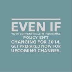 How to deal with the healthcare changes - choosing the right plan for your family, finding an affordable plan, planning financially for changes, etc.