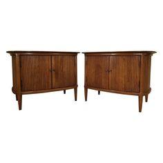 Image of Tomlinson End Tables - Pair Credenza, End Tables, Cabinet, Storage, Furniture, Bedroom, Design, Home Decor, Image