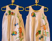 Sealife Empire Dress for infants and toddlers by deborahwillarddesign on Etsy, $34.00 USD