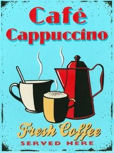 retro coffee signs kitchen decor | ... Fresh HOT Coffee Metal Sign Vintage Coffee POT Kitchen Decor | eBay