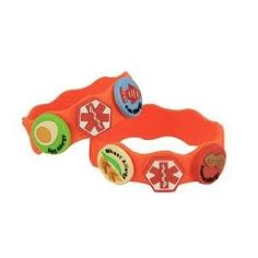 Allerbling!! Great bracelets for children with multiple allergies.  Let your peeps know what to look out for.