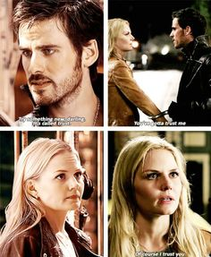 Emma and Hook Parallels - 2 * 5 - 4 * 3 #CaptainSwan
