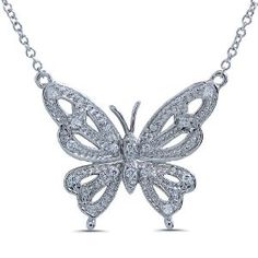 925 Sterling Silver Y Necklace with Butterfly Pendant (Jewelry) http://www.amazon.com/dp/B006M3SWPY/?tag=pindemons-20 B006M3SWPY