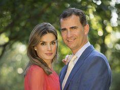 Los futuros reyes Felipe VI y Letizia