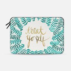 Treat Yo Self - Macbook Sleeve
