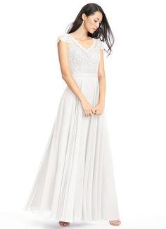 AZAZIE CHERYL. Cheryl is a brilliant floor-length bridesmaid dress in an A-line cut. #Bridesmaid #Wedding #CustomDresses #AZAZIE