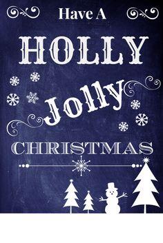 Have a Holly Jolly #Christmas