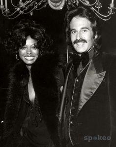 Diana Ross & first husband Bob Silberstein