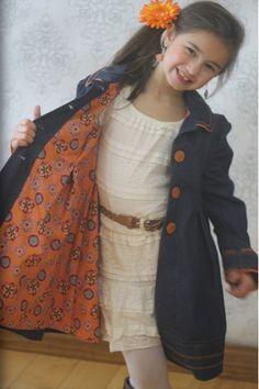 Sweet Pea Coat - Ellie Inspired Lined/Reversible Coat Jacket PDF pattern  - sizes 1-16 by EllieInspiredClothes on Etsy https://www.etsy.com/listing/181921063/sweet-pea-coat-ellie-inspired