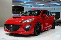 Photo: Uploaded from the Photobucket iPhone App. This Photo was uploaded by Mazda 3 Hatchback, Car Stuff, Lamborghini, Concept, Cars, Red, Ideas, Places To Visit, Autos
