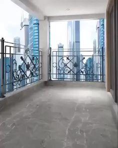 Home Design - Modern Small Balcony Design, Small Balcony Garden, Small Balcony Decor, Small House Interior Design, Small Outdoor Spaces, Small Room Design, Modern House Design, Small Balconies, Pocket Garden Small Spaces