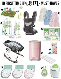 29dda0c8c240 10 FIRST TIME MOM MUST-HAVES - GOLD COAST GIRL. Baby Registry ...
