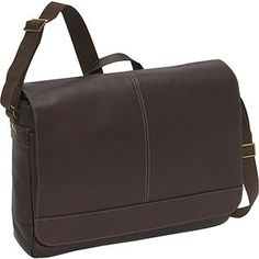 $80 Colombian Leather Laptop Messenger