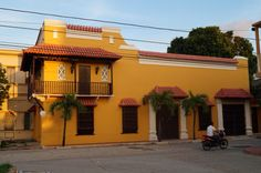 Colonial house at Corozal (Sucre, Colombia)