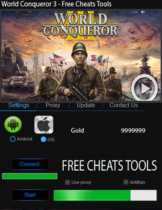 World Conqueror 3 Hack ToolLinks World Conqueror 3 Hack Tool Updated No Survey No Password. Now World Conqueror 3 Hack Tool is one of the best hack tool you dow Cheat Online, Browser Support, Just Dance, How To Introduce Yourself, Cheating, Mobile App, Helpful Hints, Hack Tool, Shopping