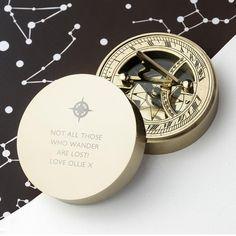 Iconic Adventurer's Sundial Compass