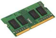 Оперативная память для ноутбуков SO-DDR3 4Gb PC12800 1600MHz Kingston KCP3L16SS8/4  — 2850 руб. —  Бренд: Kingston, Тип модуля памяти: DDR3L, Объём: 4 Гб, Рабочая частота: 1600, Латентность: CL11, Количество модулей памяти в комплекте: 1