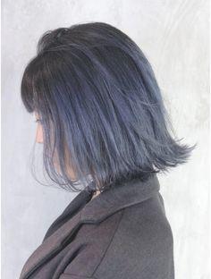 Silver Ombre Short Hair, Pink Hair, Blue Hair, Korean Hair Color, Pretty Hair Color, Aesthetic Hair, Corte Y Color, Hair Setting, Short Hair With Bangs