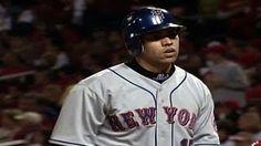 10/15/2006: Carlos Beltrán's (New York Mets) Home Run (Solo HR) of 2006 NLCS Game 4 (MLB Career Post Season Multi-Home Run Game) @ St. Louis Cardinals.