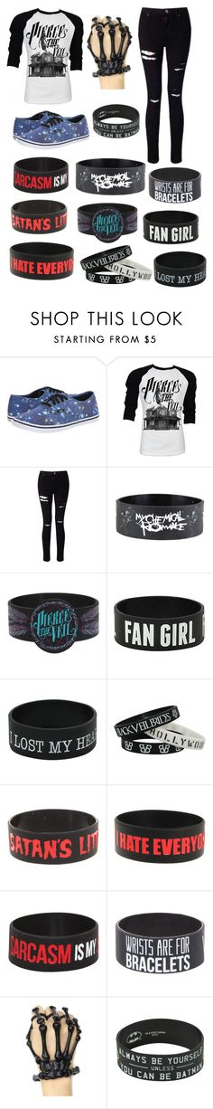 """""""VANS"""" by sup-its-alex-peace ❤ liked on Polyvore featuring Vans, Retrò and Miss Selfridge"""