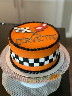 Corvette Cake!     #cake #buttercream #fondant #corvette #corvettecake #birthday #birthdaycake #decoratedcake #cakedecorator #yum #desmoines #desmoinesiowa #thesweetestthing