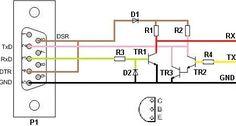 Maas DX 5000 cable de programación Vga Connector, Cable, Circuits, Connection, Audio, Usb, Wire, Star, Electronic Schematics