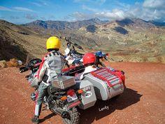 BMW GS Sidecar rig, ADV Rider , http://www.pashnit.com #sidecar #motorcycle #pashnit