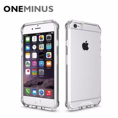 OneMinus Anti knock Clear Protective Case For iphone 6s plus Case Coque Shockproof Hard back cover For iphone6 6s Fundas