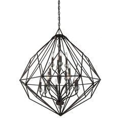 Filament Design Masursky 16-Light Oil-Rubbed Bronze Chandelier-CLI-ACG201612…