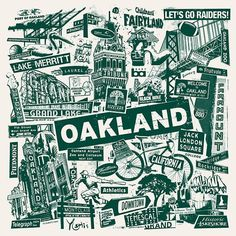 Oakland!  I love their tree logo!  This city has soul!!! ✨