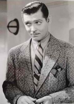 Clark Gable, love those eyes!