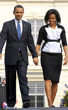 President Barack Obama and First Lady Michelle Obama Michelle Et Barack Obama, Michelle Obama Fashion, Barack Obama Family, First Black President, Mr President, Black Presidents, Greatest Presidents, Joe Biden, Durham
