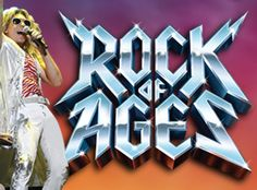 Rock Of Ages Ticketek Michael Falzon as Stacee Jaxx Comedy Theatre Melbourne 2011